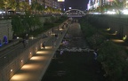 Water boulevard in downtown Seoul